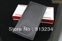 "Free shipping Promotion Sales New Brand"" WOERFU"" Designer Wallets for Men Organizer bag Black&Coffe Color WB-9"