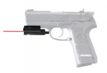 Tactical Compact Pistol Red Weaver Rail Laser Sight with Tail Switch 20mm mount laser scope