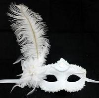 Feather belt flower mask Christmas mask masquerade masks