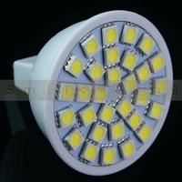 5 pcs GU5.3 MR16 30 SMD LED 5050 LED bulbs lamps lights White/ Warm White Spot light 4.8W 480-LM AC 12V Free Shipping