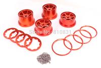 CNC Metal wheel hub assembly For 26cc,29cc,30.5cc baja