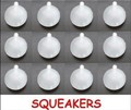 27mm diameter*37mm SMALL replacement SQUEAKERS plastic Squeekers make dog toys 100pcs/lot