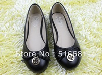 Free shipping 2013 new solid color ballet shoes flat shoes