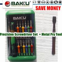 Wide Application Top Precision Screwdriver Kit (BAKU BK-6312) +Metal Pry Tool .Necessary Tool sets For Repair Phone,PC and etc.