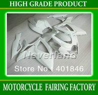 High garde ABS plastic Race glossy white for SUZUKI GSXR600/750 2006 2007 bodywork for GSXR600 R750 06 07 motorcycle fairing set