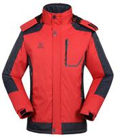 Free shipping Men Winter Outdoor Sport Skiing Suit Jacket, Waterproof Windproof Breathable Thermal Ski Suit Jacket for Men 8302