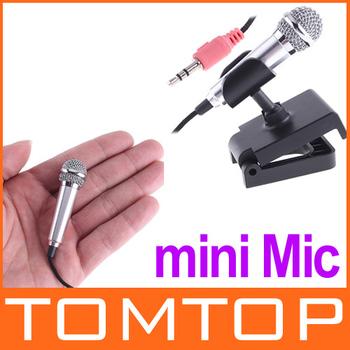 3.5mm Mini Mic Tiny Microphone for PC Laptop MSN Skype
