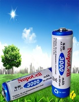 free    shipping 12pcs/lot   AA 3000mAh NiMH Rechargeable Batteries Battery Cell new sealed