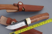 Handmade Forged Damascus Handle Hunting Knife A67
