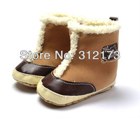 FREE SHIPPING----baby boy boots children snowboots winter warm footwear first walkers skidproof snowboots baby shoes 1pcs 2432