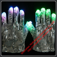 Sequin LED Flashing Glove for Dancing