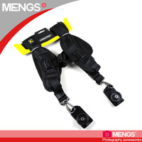 Dual Shoulder Belt Strap Holder for DSLR Camera Lens Binocular Canon Nikon Sony