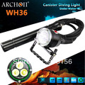ARCHON CREE LED Max 3000 Lumens Dive Light Canister Diving Lights/Diving Headlamp DH30 (w/batteries and charger)