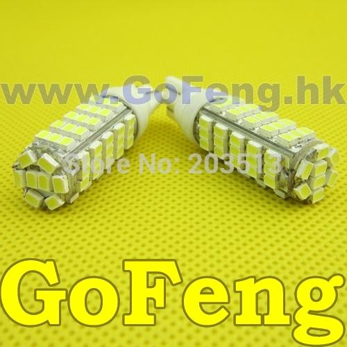 все цены на Источник света для авто GFG 50pcs/Lot 68SMD W5W/194/T10 68 SMD 3020 в интернете