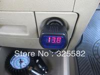 Digital car battery monitoring Voltmeter