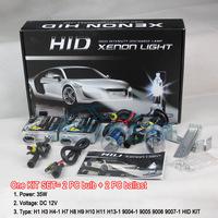 Xenon Conversion Kit, Xenon Kits H1 HID xenon headlights Super brightness auto HID kit Free shipping