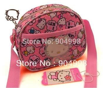 Hot Selling Hello Kitty Messenger bag for Children  137910 Free Shipping