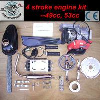 4 Stroke Bicycle Engine Kit 49cc, Hand Start Gasoline Engine Kit