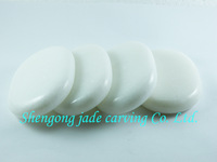 free shipping ---8*6CM--  1PCS marble  Massage Stone --   Beautiful products  Cold treatment  Health therapy