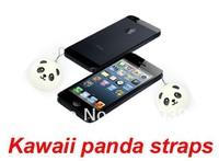 PROMOTION free shipping 1pcs 4cm Kawaii Panda Dim Sum Bun sweet-smelling, Squishies Cell Phone Straps, Squishy Bag Charm Gift