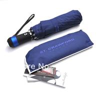 Original Brand - Men Fashion Reflective Fully Automatic Male Business Rain Sun folding Creative Umbrella - Free Shipping