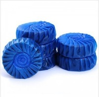 free shipping Blue bubble toilet cleaner/clean lavatory spirit/toilet bowl cleaning ball 1pack=4 pcs