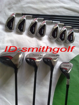2013 original heads complete set of clubs RAZR EDGE golf clubs 1pcs golf driver ,2pcs golf woods, 7pcs golf irons ,1pcs putter
