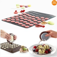 Factory sales of Macaroon Baking Mat Cake Decorating 6 Set Muffin Pastry Cookies Sheet DHL/Fedex/EMS/CPAM free shipping