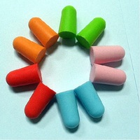 1200 PCS SOFT FOAM EARPLUG COLOR PROTECTOR EAR PLUGS