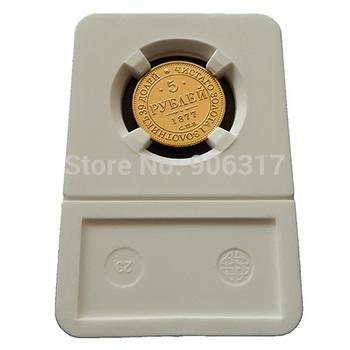 10pcs/lot  High quality 1877 Gold clad Replica Russian Souvenir coins