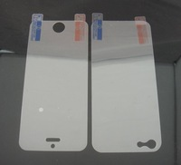 Front And Back Crystal Clear Screen Protector For iphone5  with retail package Free Shipping