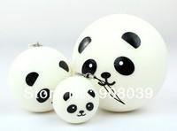 Free shipping 6cm bread strap sweet-smelling Squishies cell phone Straps, Panda Dim Sum Bun ,Squishy Bag Charm Gift