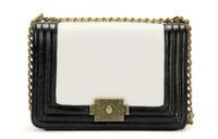 2013 Chic Lady's Love --- Classic Genuine Cowhide Leather Vintage Metal Chain Flap Bag Shoulder Bag For Women + 6colors