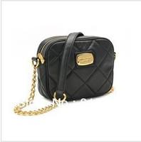 2012 fashion style handbag,checkered Chains bags,free shipping.#6805