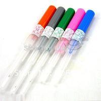 5pcs/Lot  Sterilized Piercing Needle 14G,16G,18G,20G,22G Gauge for body piercing kits supplies free shipping