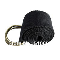 Belt For  Men Canvas Belt  Color Navy Outdoor Casual Belt Double-Ring Buckle Length 104-125CM FreeShipping By China post