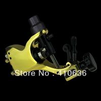 Hot! Professional Golden Stigma Bizarre V2 Rotary Tattoo Machine Gun with 3 Stroke excenter 2 Allen Key M658-15