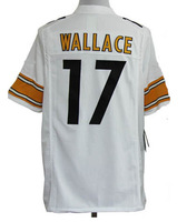 Wholesale - American Football Jerseys  Wallace 17# Game  Men's Football Jerseys  size:S-XXXL
