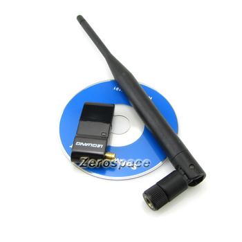 300Mbps USB 2.0 Mini Wireless WiFi Adapter IEEE802.11b/g/n External Antenna New