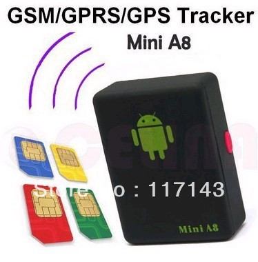 Mini Global Real Time GPS Tracker GSM GPRS GPS Tracking Device Track through both PC Smartphone