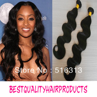 Queen hair product mix Length 3pcs/lot Malaysian virgin remy wavy hair weaving 1b free shipping by DHL