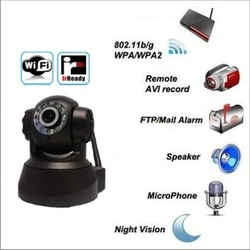 baby monitor CCTV camera Wireless Ip Camera WIFI camera 3G WIFI GPRS with best quality CHINA POST(China (Mainland))
