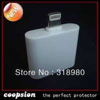 adapter  for iphone5 for iphone4 cable turn to iphone5  30pin to 8 pin