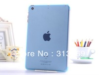 Transparent Hard Back Case Skin Shell Sleeve Work With Smart Cover for iPad Mini Multi-Color 50pcs/lot  for free shipping