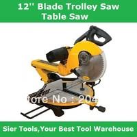 305mm,12'' Blade Trolley Saws/Wood&Al Sawing Machine/Delivery By Fedex,UPS or DHL