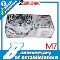 Free shipping by  MAGICAR SCHER-KHAN  2 way magicar car alarm system Magicar M7 Russian version