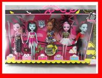 new 2014 Monster Hight dolls 5pcs/lot no original box retail good quality wholesale monster high doll
