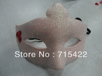 Free shipping 100% pure EVA material wholesale supply Half Face dance mask