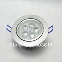 Hot selling 5W LED Downlight Light White/Warm white celling light 5pcs/lot  Free shipping