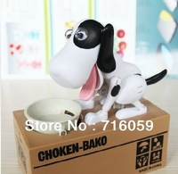 Automated Dog Steal Coin Piggy Bank Eat Money Dog Saving Money Box For Kids Gift Free Shipping Promotion